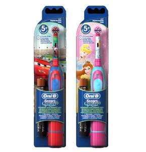 מברשת שיניים חשמלית עם סוללות לילדים אוראל בי סטייג'ס פאוור Oral-B Stages Power