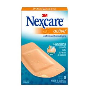 נקסקר פלסטר אקטיב רחב Nexcare Active Bandages לברך ולמרפק