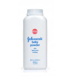 טלק לתינוקות ג'ונסון 200 גרם