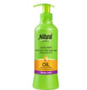 נטורל פורמולה קרם לחות אגוז מקדמיה לשיער מתולתל | Natural Formula Oil Nutrition
