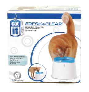 מזרקת מים לחתולים ולכלבים קטנים FREAS & CLEAR