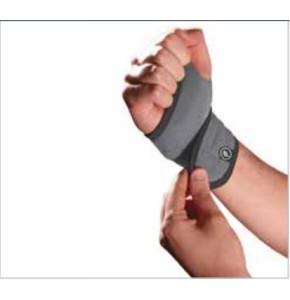 מגן שורש כף היד מגנטי נאופרן ללא אגודל ללא סד פורטונה Neoprene Magnetic Wrist Support