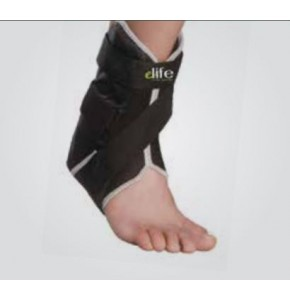 מייצב קרסול חצי קשיח עם רצועות | ELIFE Pro Ankle Brace