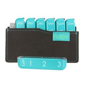 פילבוקס מיני קופסא לארגון תרופות שבועית 3 תאים ביום | PILBOX Mini