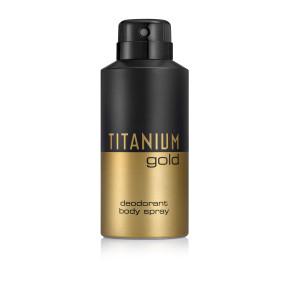 טיטניום גולד ספריי גוף TITANIUM GOLD