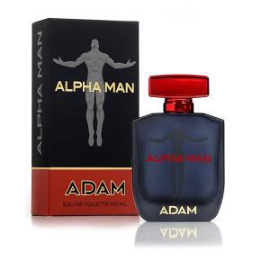 """אדם אלפא מן בושם לגבר 100 מ""""ל ADAM ALPHA MAN EDT"""
