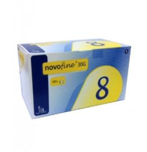"""מחטי נובופיין 8 מ""""מ 30G NOVOFINE"""
