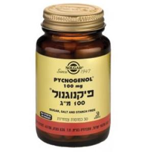 """פיקנוגנול 100 מ""""ג SOLGAR Pycnogenol סולגאר"""