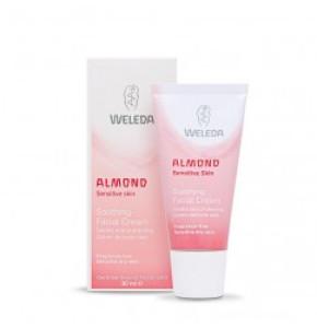 קרם שקדים עשיר לעור פנים עדין ורגיש מסוג רגיל עד יבש Almond Soothhing Facial Cream וולדה קרם פנים WELEDA