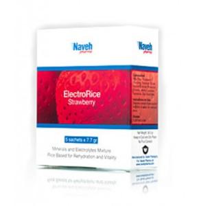 אלקטרו רייס אלקטרוליטים אבקה למניעת התייבשות | ElectroRice Strawberry