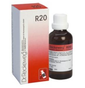 "R20 DR. RECKEWEG ד""ר רקווג טיפות הומיאופתיות"