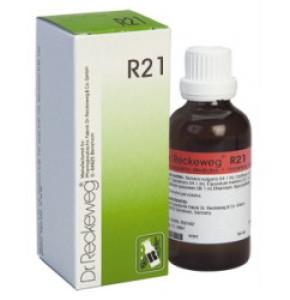 "DR. RECKEWEG R21 ד""ר רקווג טיפות הומיאופתיות"
