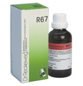"""ד""""ר רקווג DR. RECKEWEG טיפות הומיאופתיות R67 Drops"""