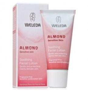 תחליב לחות שקדים מרגיע לפנים WELEDA Almond Soothing Facial Lotion וולדה