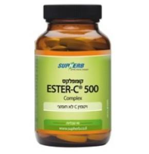 """אסתר C קומפלקס 500 מ""""ג Ester C Complex סופהרב"""