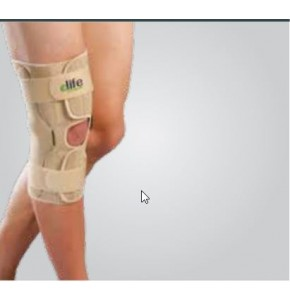 מייצב ברך עם צירים ELIFE Wrap Around Hinged Knee Support