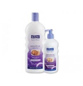 """קמיל בלו לפני השינה אל סבון לתינוק Dr. Fischer Kamil Blue Sensetive Soap ד""""ר פישר"""