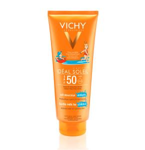 תחליב הגנה מהשמש SPF50 במיוחד לילדים לפנים ולגוף | VICHY Capital Soleil Milk For Children