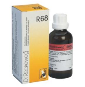 """R68 DR. RECKEWEG ד""""ר רקווג טיפות הומיאופתיות Drops"""
