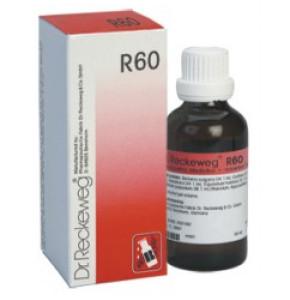 """R60 DR. RECKEWEG ד""""ר רקווג טיפות הומיאופטיות"""