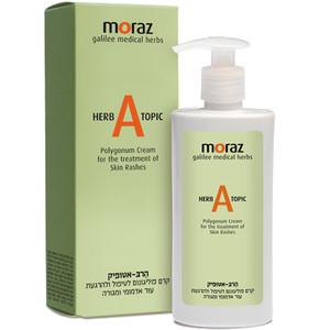 הרב-אטופיק קרם טיפולי להרגעת עור אדמומי ומגורה Moraz Herb Atopic מורז