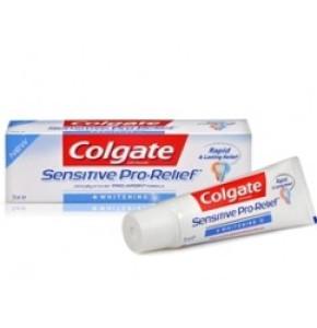 קולגייט סנסטיב פרו ריליף הלבנה משחת שיניים | Colgate Sensitive Pro Relief + Whitening