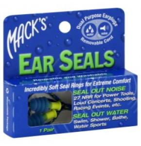 Macks אטמי אוזניים Ear SEALS Plugs