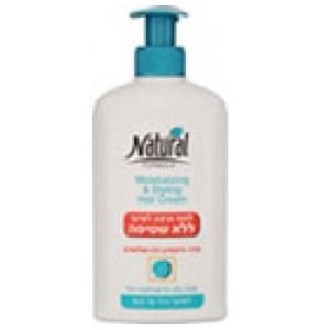 נטורל פורמולה קרם לחות ועיצוב לשיער רגיל עד יבש אלוורה | Natural Formula Moisturizing & Styling Hair Cream