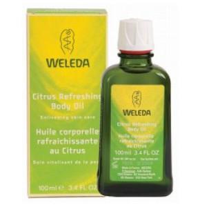 שמן לימון מרענן לגוף WELEDA Citrus Refreshing Body Oil וולדה