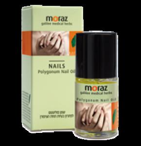 שמן פוליגונום לציפורניים   MORAZ Polygonum Nail Oil - שמן הזנה לציפורניים