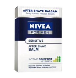 תחליב לחות מרגיע לגבר לאחר גילוח לעור רגיש | NIVEA MEN SENSITIVE After Shave Balm ניוואה