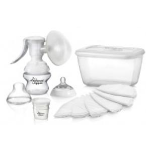משאבת חלב ידנית להנקה הכי טבעי Tommee Tippee Breast Pump טומי טיפי
