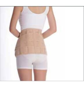 חגורת גב אוורירית עם חיזוקים וסגירה כפולה EUNICE MED Lumbar Support
