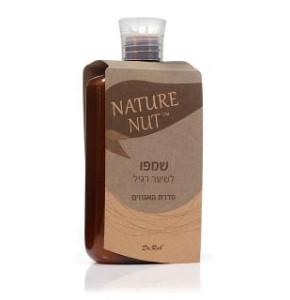 שמפו אגוזים |  לשיער רגיל  ללא מלחים - NATURE NUT
