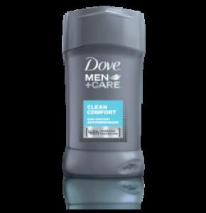 קלין קומפורט דאודורנט סטיק נגד זיעה דאב Clean Comfort Anti-Perspirant Deodorant Stick Dove Men+Care