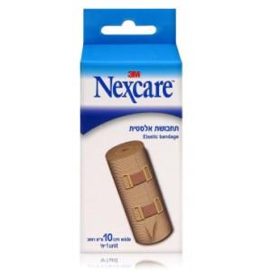 """תחבושת אלסטית נקסקר 100 מ""""מ NEXCARE ELASTIC BANDAGE"""