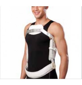 Hyperextension Brace   חגורת תמיכה לגב 3 נקודות, תואם JEWETT מבית ELIFE