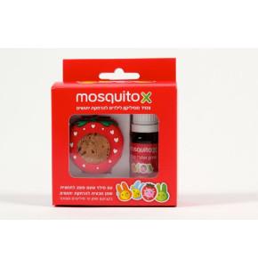 מוסקיטו X צמיד מרחיק יתושים רב פעמי