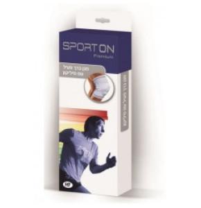Sport ON מגן ברך פעיל עם סיליקון