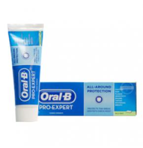משחת שיניים פרו אקספרט בטעם מנטה מרענן אוראל בי ORAL B Pro Expert