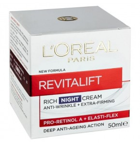 רויטליפט קרם לילה | L'Oreal Dermo Revitalift Night Cream לוריאל דרמו