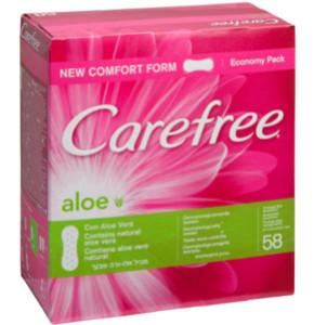 קרפרי מגן תחתון אוורירי עם אלוורה | CareFree Aloe Vera