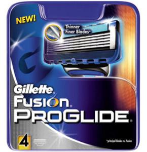 סכין לגילוח ידני ג'ילט פיוז'ן פרוגלייד 4 סכינים Gillette Fusion Proglide Blades