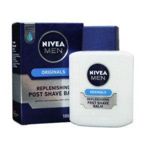 תחליב לחות לגבר לאחר גילוח לעור יבש ניוואה אפשר שייב | NIVEA Post Shave Balm