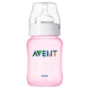 בקבוק האכלה ללא בספינול Feeding Bottle 1M+ 260 ml אוונט AVENT