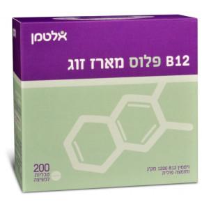 ויטמין B12 פלוס חומצה פולית אלטמן מציצה