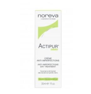 noreva אקטיפור קרם טיפולי להסתרת פגמי עור Actipur
