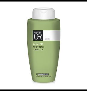 """אקטיב שמפו טיפולי לשיער נושר ומידלדל Dr. OR Active Shampoo ד""""ר עור"""