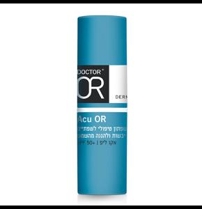 """אקו-ליפ שפתון טיפולי לשפתיים יבשות וסדוקות Acu-Lip ד""""ר עור"""