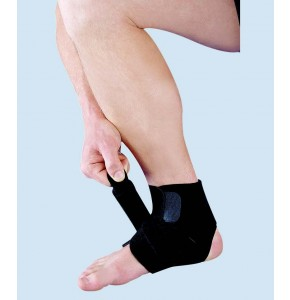 מגן קרסול נאופרן עם רצועה אסא   ASSA Open Ankle Brace with strap